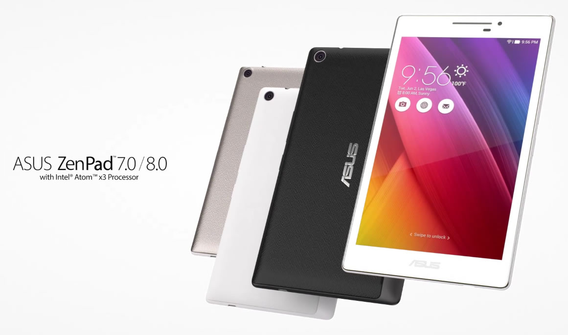 surprise asus releases new promo video for zenpad 8 0 and. Black Bedroom Furniture Sets. Home Design Ideas